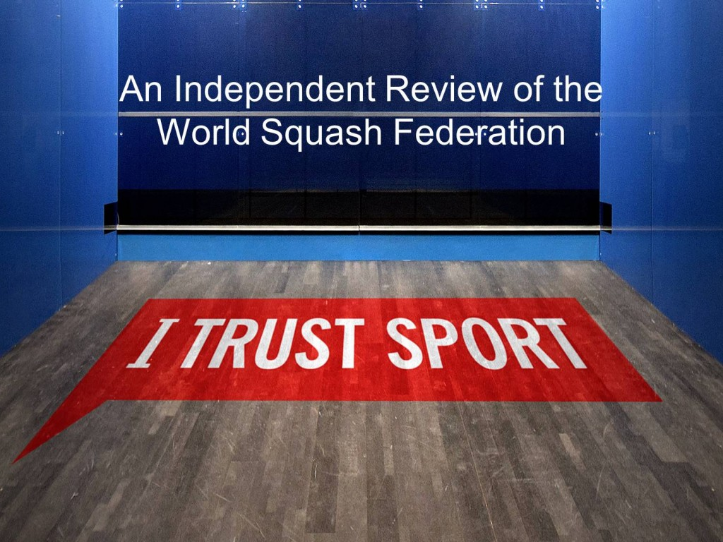 I Trust Sport - WSF review presentation image